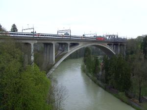 Aare Eisenbahnbrücke