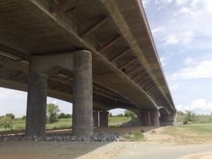Autobahnbrücke Seckenheim