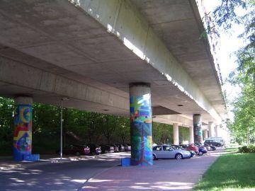 Grenzbrücke Basel-Weil am Rhein